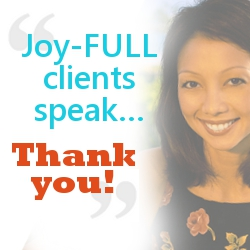 Joy-Full Clients Testimonials